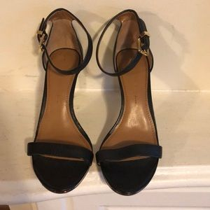 Banana Republic | Emalee black leather sandals